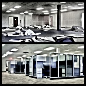 Best Graphics Group Offices, Before and After Renovation