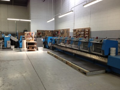 Muller Martini 6 Pocket Prima Saddle Stitcher