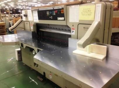 "Saber S-137 54"" Paper Cutter"