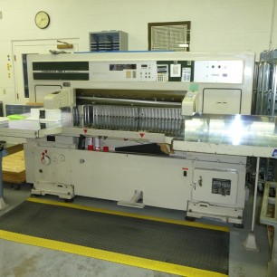 """Used 52"""" Itoh Guillotine Paper Cutter"""