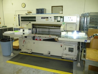 "Used 52"" Itoh Guillotine Paper Cutter"
