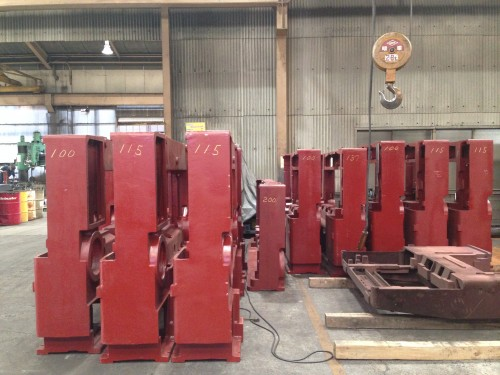 Itoh Guillotine Cutter Frames