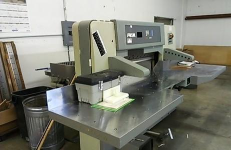 """2006-Prism 45"""" Paper Cutter"""