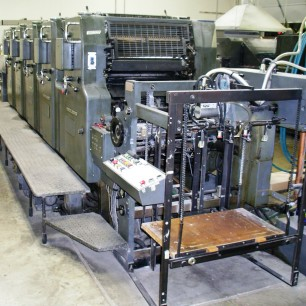 Heidelberg MOFP-H 5 Color Press