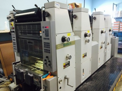 Best Graphics Group_Hamada B452A-1 Sheetfed Press