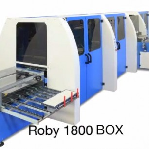 Zechini Roby 1800 BOX Machine