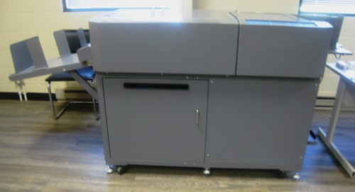 Duplo DC-645 Slit/Cut/Crease machine