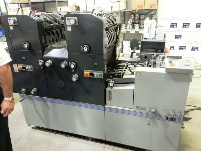 AB Dick 9995 2 Color Press