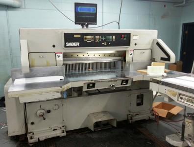 Saber S115 45 inch paper cutter