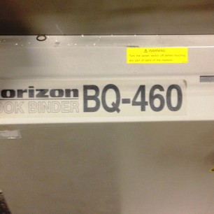 Horizon BQ-460 Perfect Binder