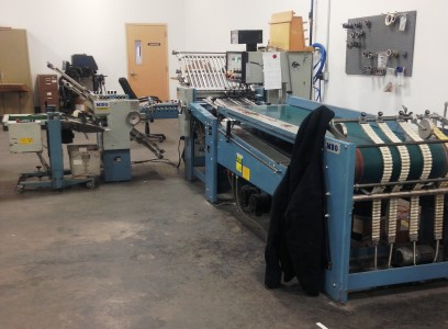 "MBO B26-C 26"" Continuous Feed Folder"