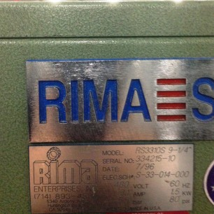 Rima RS-3310S Bindery Stacker