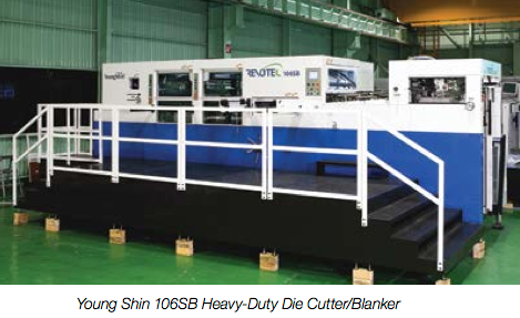 Young Shin 106SB Heavy-Duty Die Cutter/Blanker