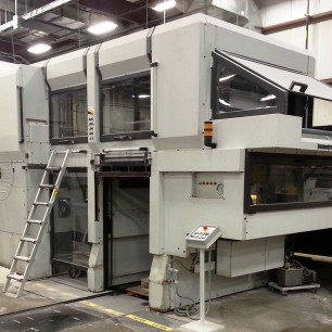 Heidelberg Dymatrix 105 Die Cutter with Blanking
