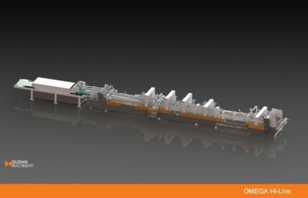 Omega Hi-Line Folder Gluer