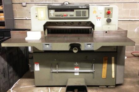 Polar 76EM Paper Cutter