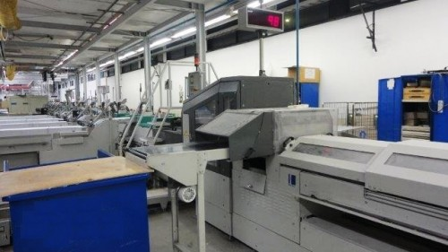 Kolbus Publica KM410C Perfect Binding Line