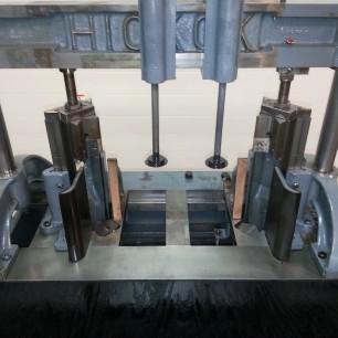 Hickock Dual Round Corner machine