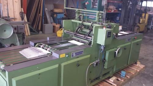 Sickenger F118a automatic spiral binding machine