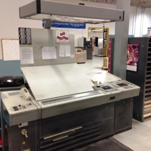Heidelberg SM 102 ZP Press