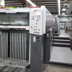 2007 Heidelberg XL 105 6-Color Press