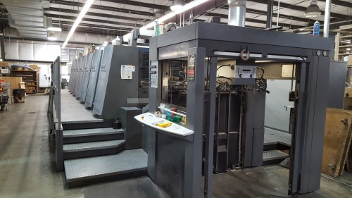 Best Graphics_2007 Heidelberg XL 105 6-Color Press_4