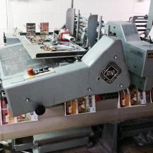Osako 368 saddle stitcher