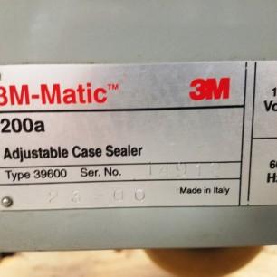 3m 200a adjustable case sealer