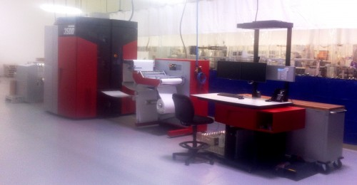 Xeikon 3500 Label Press