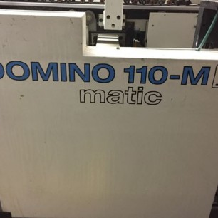 Bobst Domino 110M II Folder Glue