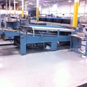 "MBO T102 40"" Continuous Feed Folder"