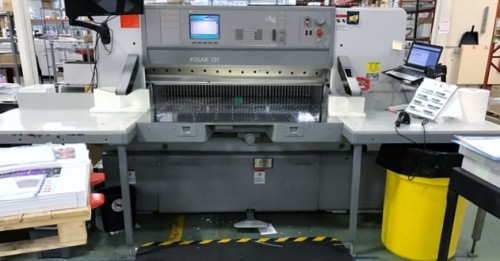 Polar 137ED Guillotine Cutter