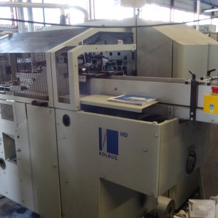 Kolbus KM472 A perfect binding line