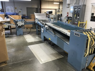 MBO TS72 Continuous Feed Folder
