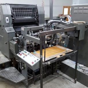 Heidelberg MOZP 2 Color Press
