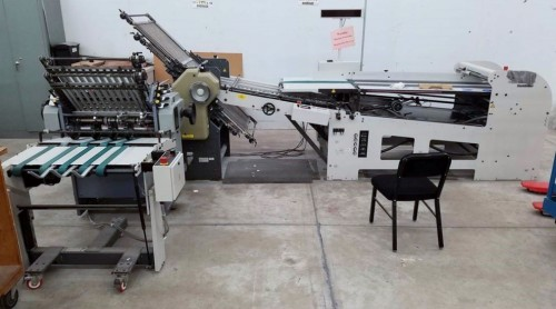 Stahl B26 444 Continuous Feed Folder