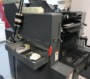 Heidelberg PM46 2 color press
