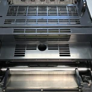 heidelberg pm46 2 color press