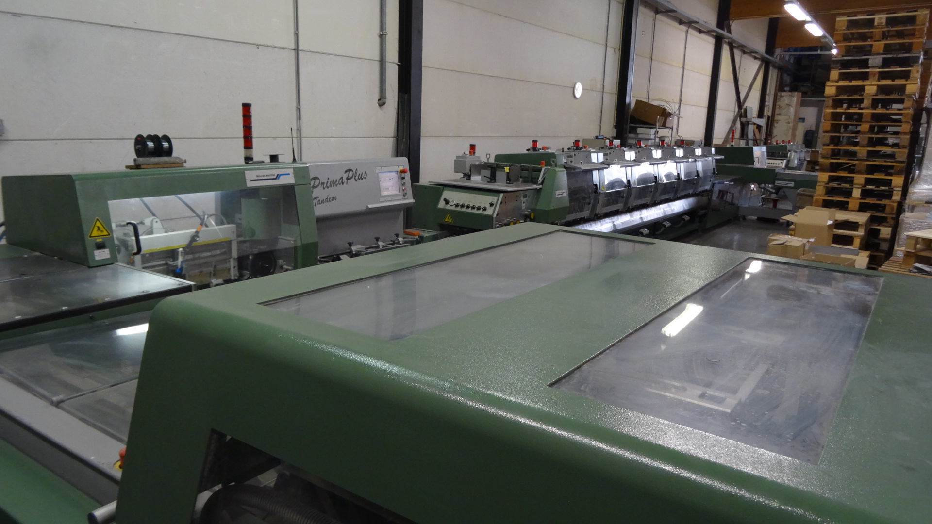 Muller Prima Plus Tandem Saddle Stitcher