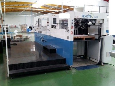 Young Shin 106SR Die Cutter with Stripping