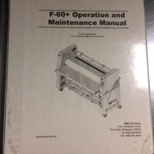 GBC F60+ Laminator