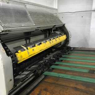 Bobst SP 1260 E die cutter