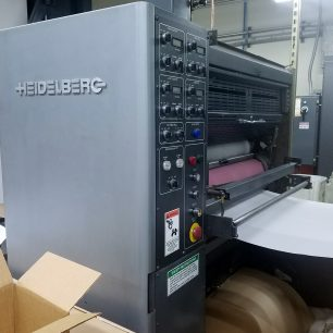 Heidelberg V30 Web press