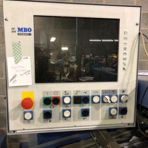 MBO K800 Pallet Fed Folder