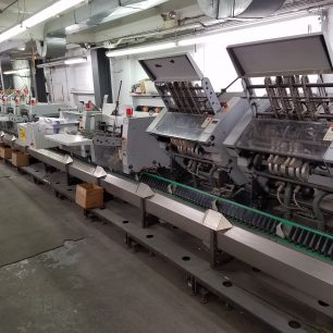 Heidelberg ST-400 Saddle Stitcher