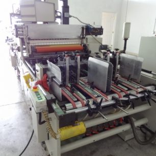 Heiber Schroeder WPS 1100 Window Patching Machine
