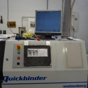 Wohlenberg Quickbinder used perfectbinder